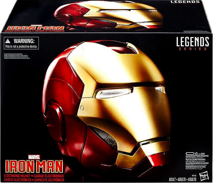 Marvel Legends Iron Man Helmet 1:1 Prop Replica Pre-Order