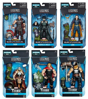Marvel Legends Thor Ragnarok Series Set of Six Action Figure