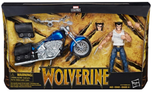 Marvel Legends Wolverine w/ Motorcycle Action Figure