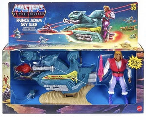 Masters Of The Universe Origins Prince Adam Sky Sled Action Figure Pre-Order