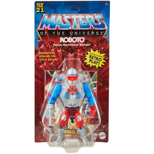 Masters Of The Universe Origins Roboto Action Figure Pre-Order