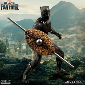 Marvel Mezco Black Panther One:12 Scale Action Figure