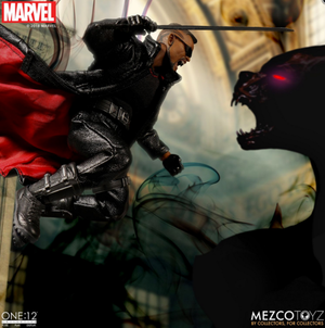 Marvel Mezco Blade One:12 Scale Action Figure