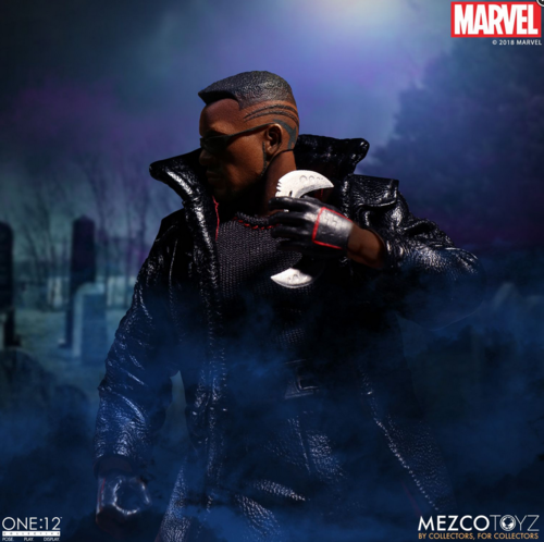 Marvel Mezco Blade One:12 Scale Action Figure Pre-Order