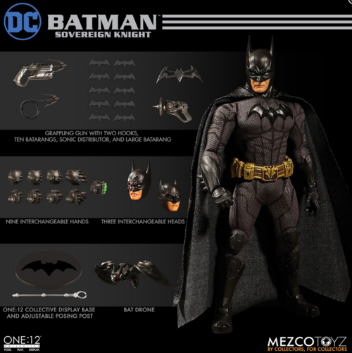 DC Mezco Batman Sovereign Knight One:12 Scale Action Figure Pre-Order - Action Figure Warehouse Australia | Comic Collectables
