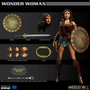 DC Mezco Wonder Woman One:12 Scale Action Figure Pre-Order - Action Figure Warehouse Australia | Comic Collectables