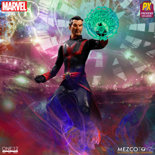 Marvel Mezco PX Exclusive Dr Strange Defender Version One:12 Scale Action Figure