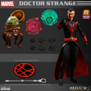Marvel Mezco PX Exclusive Dr Strange Defender Version One:12 Scale Action Figure Pre-Order