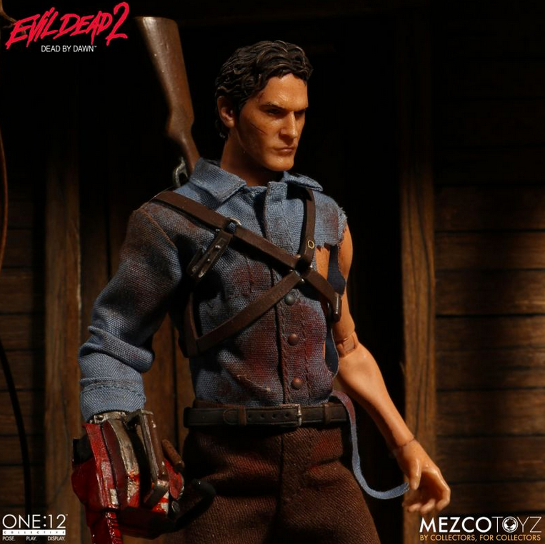 Evil Dead 2 Mezco Ash One:12 Scale Action Figure Pre-Order