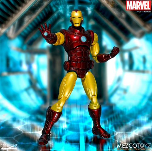Marvel Mezco Iron Man One:12 Scale Action Figure Pre-Order