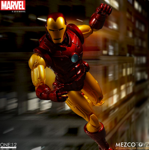 Marvel Mezco Iron Man One:12 Scale Action Figure
