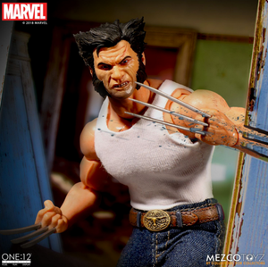 Marvel Mezco Logan One:12 Scale Action Figure