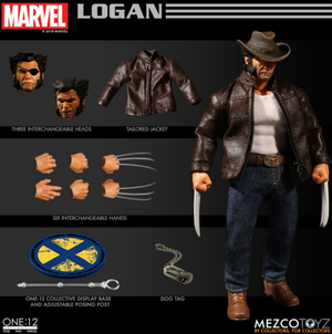 Marvel Mezco Logan One:12 Scale Action Figure Pre-Order