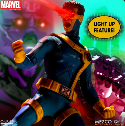 Marvel Mezco Cyclops One:12 Scale Action Figure