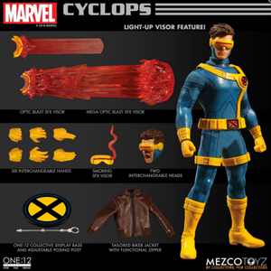 Marvel Mezco Cyclops One:12 Scale Action Figure Pre-Order