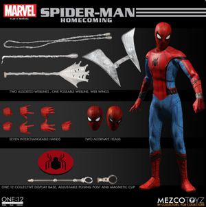 Marvel Mezco Spider-Man Homecoming One:12 Scale Action Figure Pre-Order