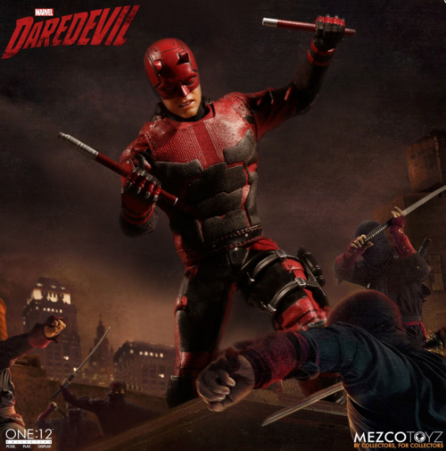 Marvel Mezco Netflix Daredevil One:12 Scale Action Figure Pre-Order
