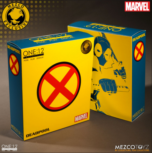 Marvel Mezco Exclusive X-Men Deadpool One:12 Scale Action Figure