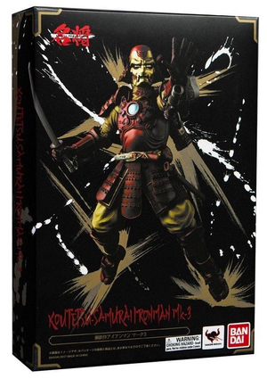 Marvel Bandai Tamashii Nations Koutetsu-Samurai Ironman Mark III Manga Realization Action Figure