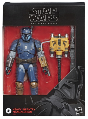 Star Wars Black Series Exclusive Mandalorian Heavy Infantry Action Figure