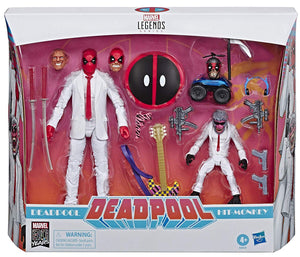 Marvel Legends 80th Anniversary Series Deadpool & Hit Monkey Action Figure 2-pack
