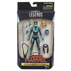 Marvel Legends Captain Marvel Exclusive Captain Marvel Starforce Action Figure