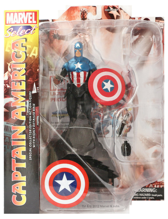 Marvel Diamond Select Captain America Action Figure