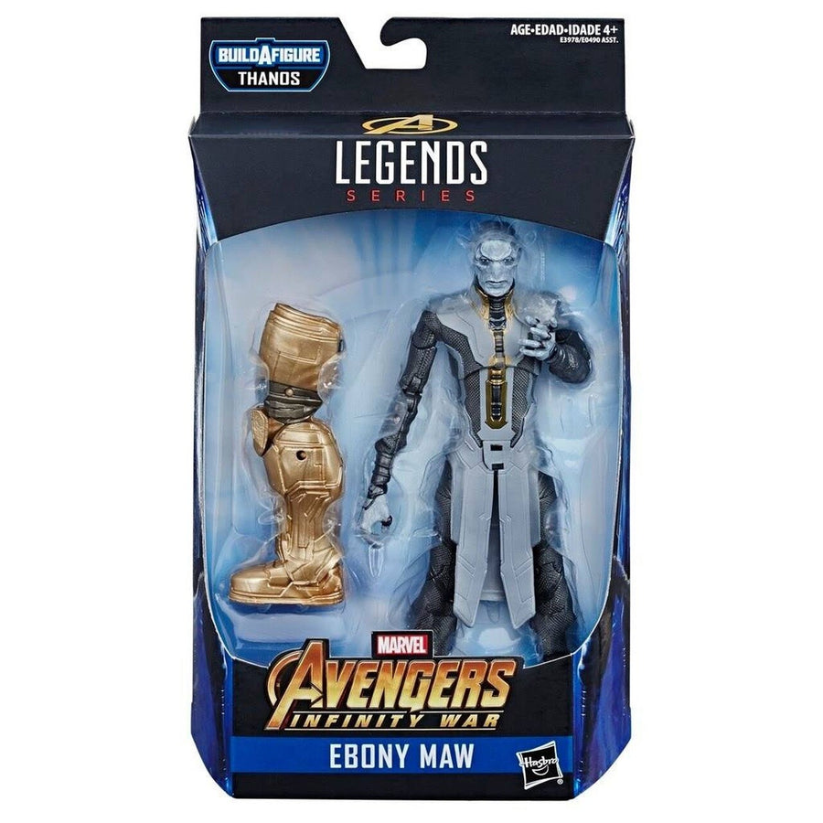 Marvel Legends Avengers Infinity War Series Ebony Maw Action Figure