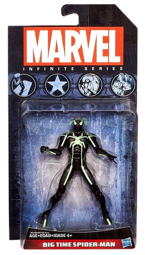 Marvel Infinite Series Big Time Spider-Man Action Figure