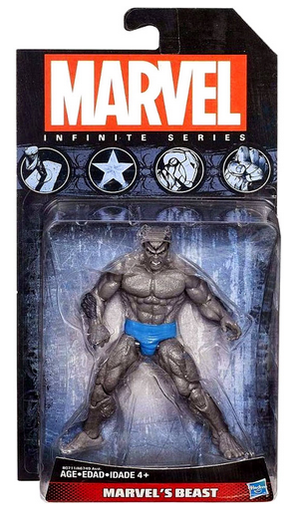 Marvel Infinite Series Grey Beast Action Figure