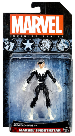 Marvel Infinite Series Marvels North Star Action Figure