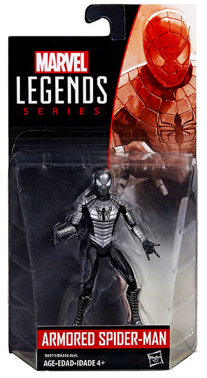 Marvel Legends Infinite Armored Spider-Man Action Figure