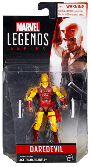 Marvel Legends Infinite Yellow Daredevil Action Figure