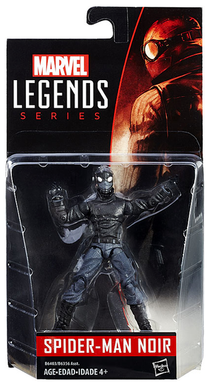 Marvel Legends Infinite Spider-Man Noir Action Figure