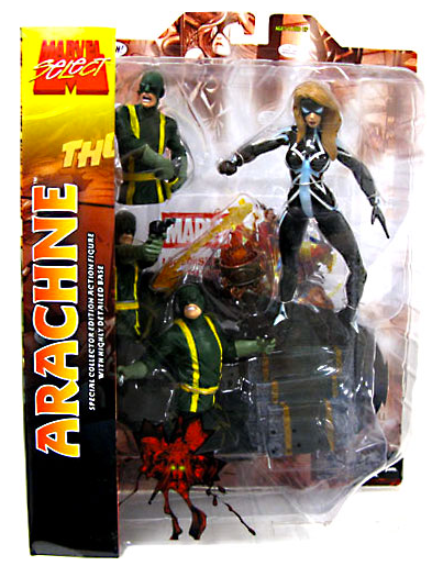 Marvel Diamond Select Arachne Action Figure