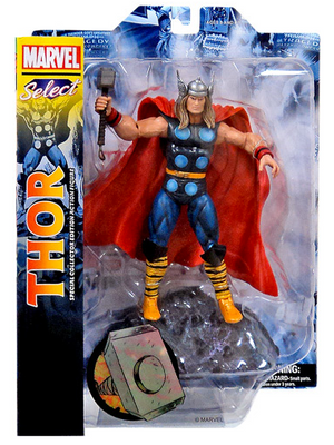 Marvel Diamond Select Classic Thor Action Figure