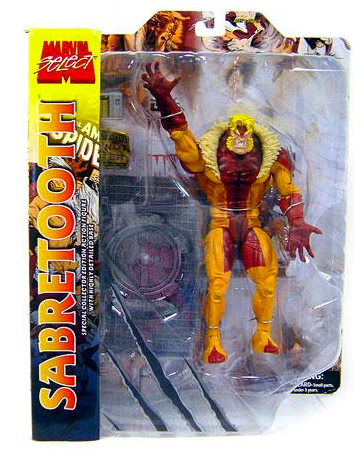 Marvel Diamond Select Sabertooth Action Figure