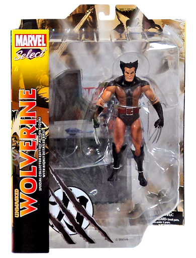 Marvel Diamond Select Unmasked Wolverine Action Figure