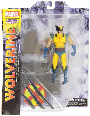 Marvel Diamond Select X-Men Wolverine Action Figure