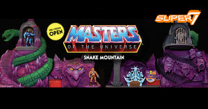 Masters Of The Universe Snake Mountain Action Figure Playset Pre-Order