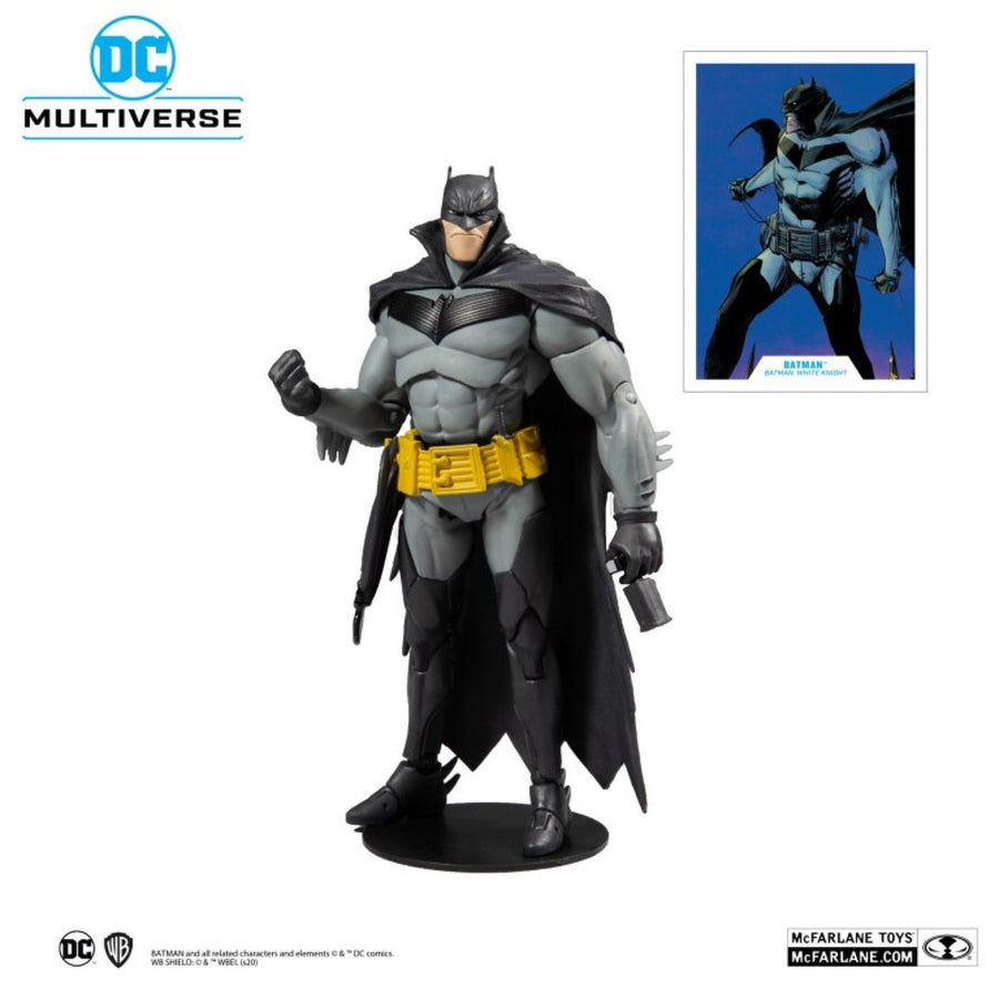 DC Multiverse McFarlane Series White Knight Batman Action Figure Pre-Order
