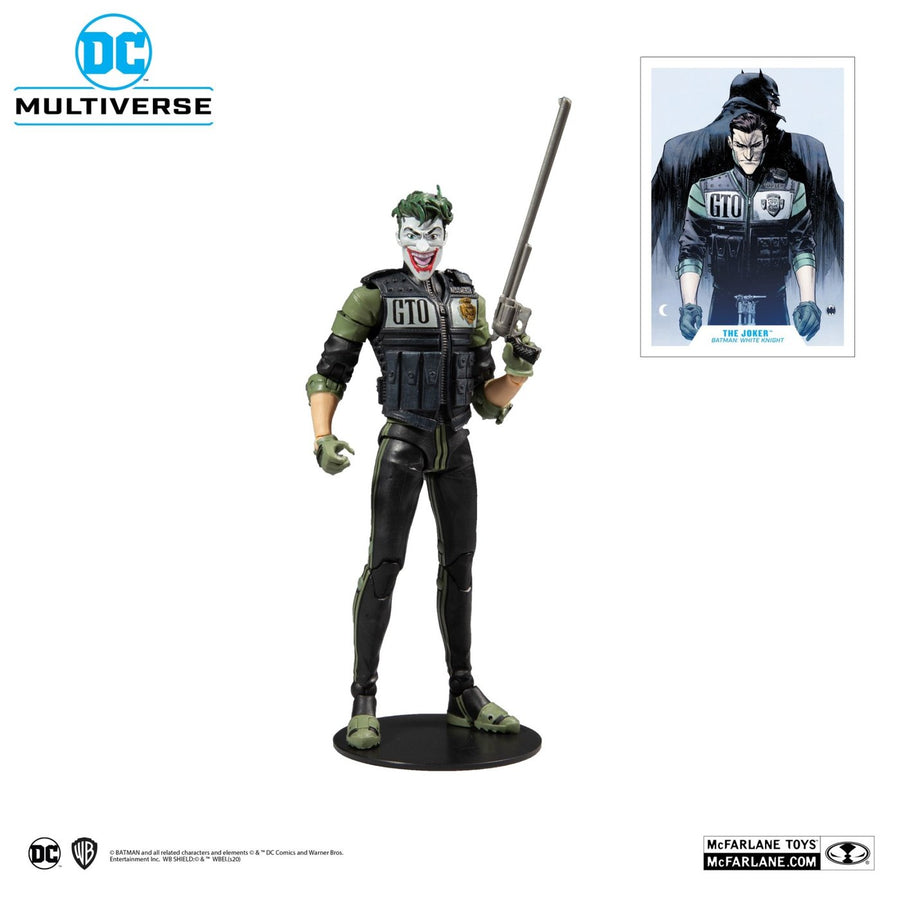 DC Multiverse McFarlane Series White Knight Joker Action Figure Pre-Order