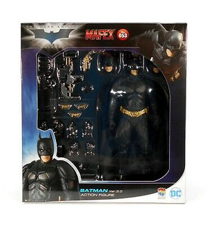 DC Mafex Dark Knight Trilogy Batman Version 3.0 Action Figure #53