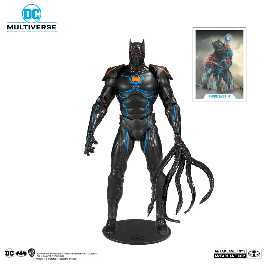 DC Multiverse McFarlane Series Dark Knights Metal Batman Murder Machine Action Figure Pre-Order