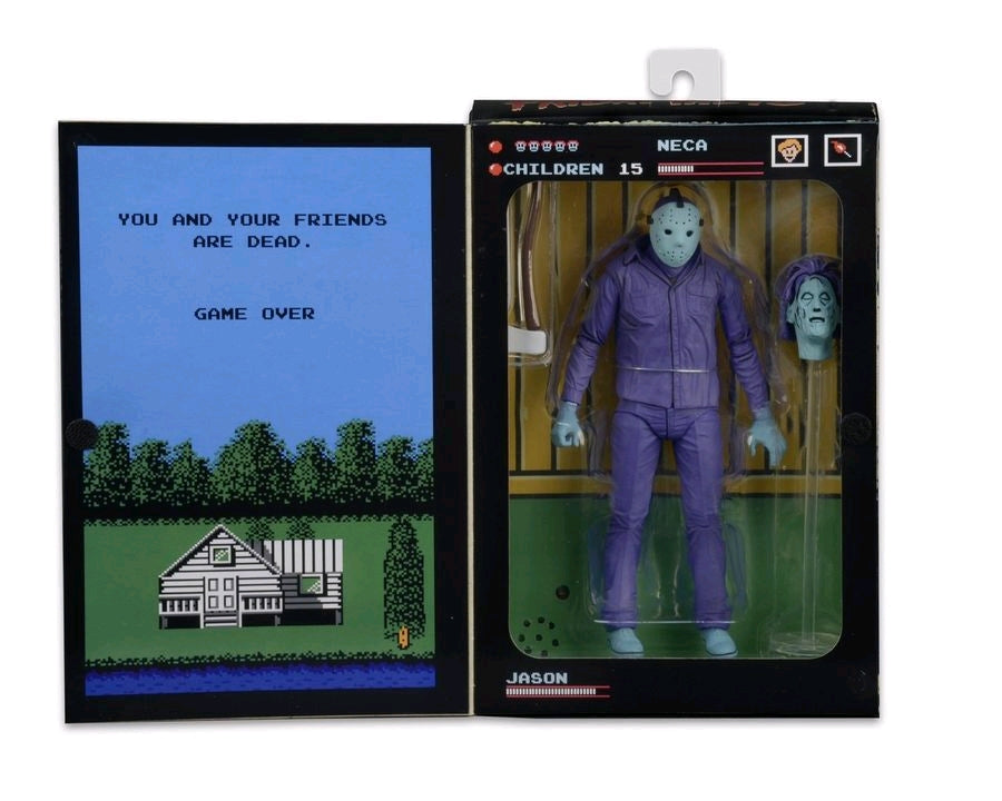 Friday The 13th Neca Classic Video Game Jason Vorhees Action Figure Pre-Order