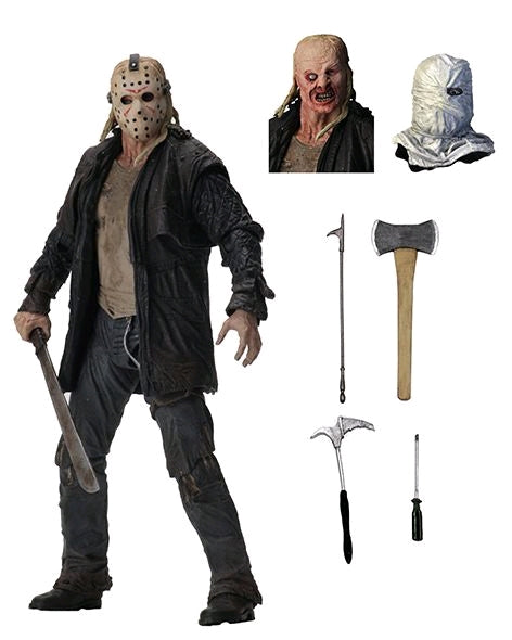 Friday The 13th Neca 10th Anniversay 2009 Ultimate Jason Vorhees Action Figure