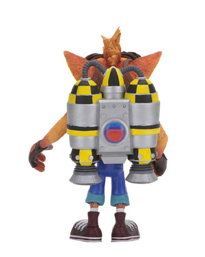 Crash Bandicoot Neca Crash w/ Jetpack 7 Inch Deluxe Action Figure