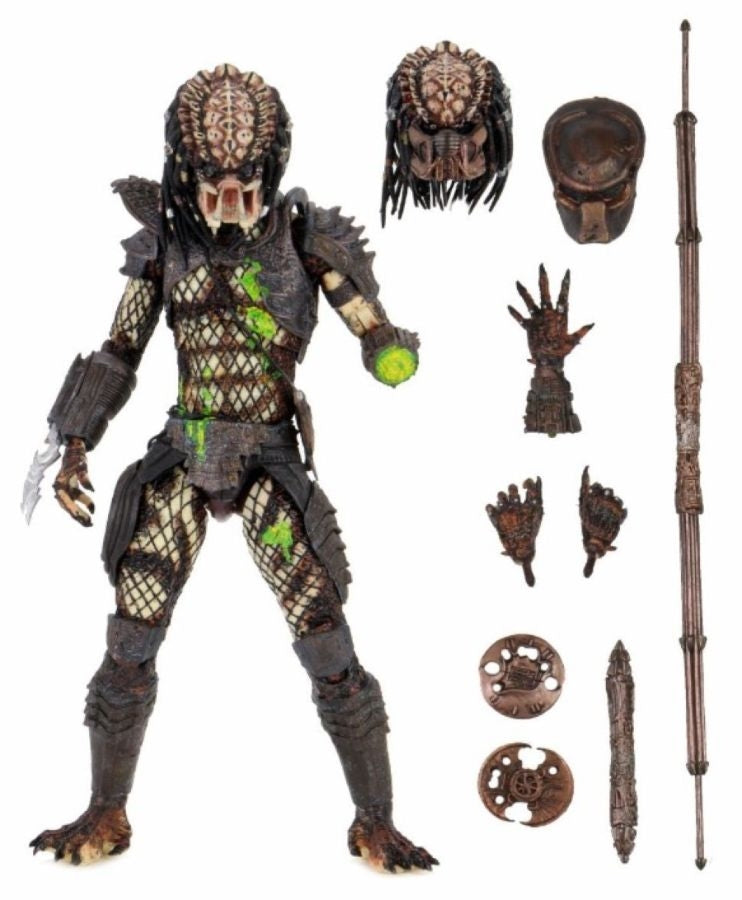 Predator Neca Ultimate City Hunter Battle Damaged Predator 2 Action Figure Pre-Order