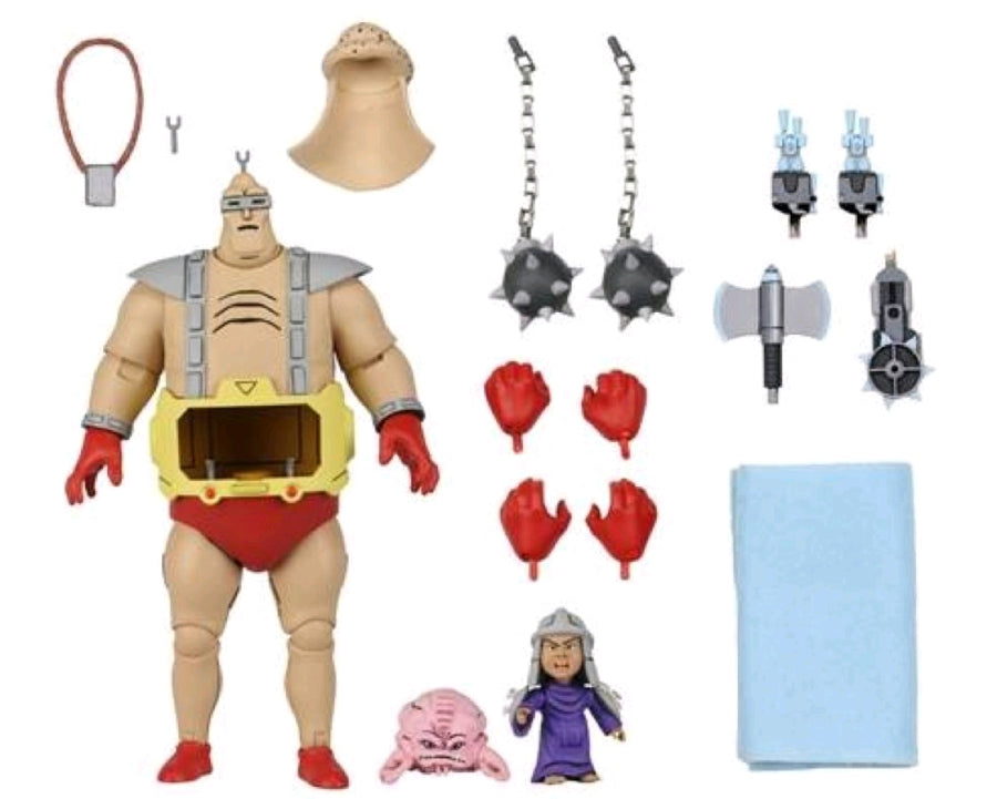 Teenage Mutant Ninja Turtles Neca Ultimate Krang's Android Body Action Figure Pre-Order