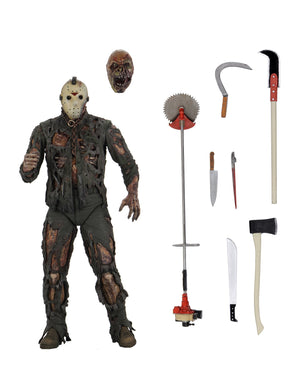 Friday The 13th Neca Part 7 Jason Vorhees New Blood Action Figure Pre-Order